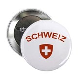 "Switzerland Schweiz 2.25"" Button"