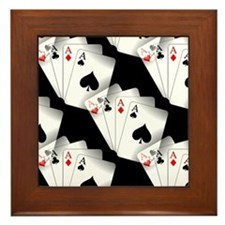 Poker Dreams Framed Tile