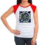 Cogs and Gears Women's Cap Sleeve T-Shirt