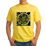Cogs and Gears Yellow T-Shirt