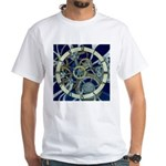 Cogs and Gears White T-Shirt