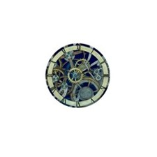 Cogs and Gears Mini Button