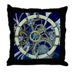 Cogs and Gears Throw Pillow