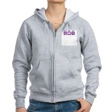 Peace/Love/Run Zip Hoodie