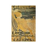 French Exposition Art Rectangle Magnet