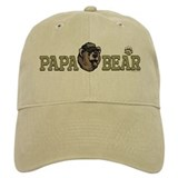 New Papa Bear Dad Baseball Cap