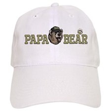 New Papa Bear Dad Hat