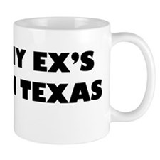 All My Ex's Live In Texas Small Mug
