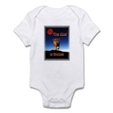 The King is coming! Infant Bodysuit