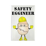 Safety Eggineer Rectangle Magnet (100 pack)