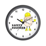 Safety Eggineer Wall Clock