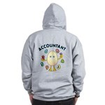 Accountant Zip Hoodie