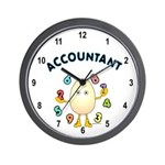 Accountant Wall Clock