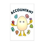Accountant Mini Poster Print