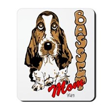 Basset Mom Mousepad