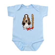 Basset Mom Infant Bodysuit