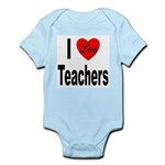 I Love Teachers Infant Creeper