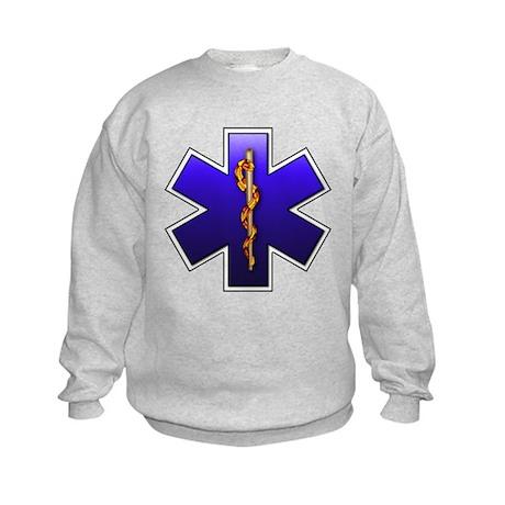 Star of Life(EMS) Kids Sweatshirt
