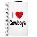 I Love Cowboys Journal
