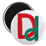 D is for Delicious Magnet
