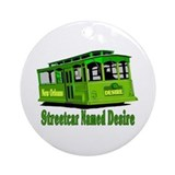 Streetcar Named Desire Ornament (Round)