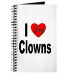 I Love Clowns Journal