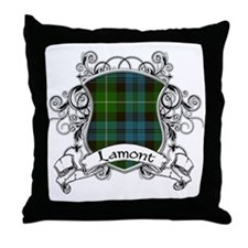 Lamont Tartan Shield Throw Pillow