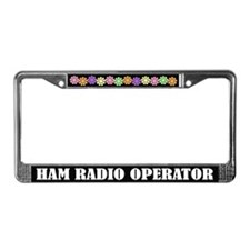 Fun Ham Radio Operator License Frame