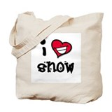 I Heart Snow Tote Bag