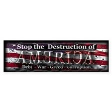 Stop the destruction of America