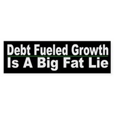 Debt Feuled Growth - Lie