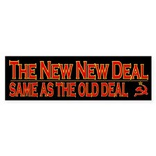 Obama Stimulus Bill Bumper Bumper Sticker