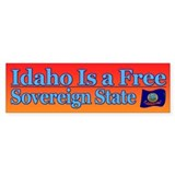 Idaho Is Sovereign Bumper Bumper Sticker