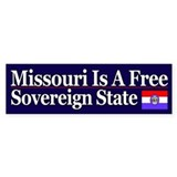 Missouri Is Sovereign Bumper Bumper Sticker