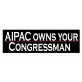 AIPAC Owns Your Congressman