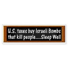 U.S. Taxes Buy Israeli Bombs