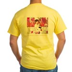 Open Your Heart to a Chained Yellow T-Shirt