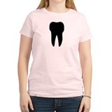 black tooth icon dentist T-Shirt