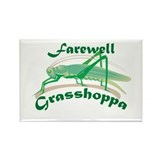 Farewell Grasshoppa Rectangle Magnet (10 pack)