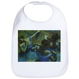 Degas Blue Dancers Bib