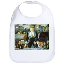 Manet, A Bar at the Folies-Bergere Bib