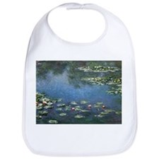 Waterlilies by Claude Monet Bib