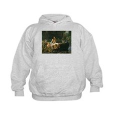 Lady of Shalott by JW Waterhouse Hoodie
