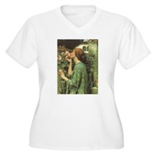 My Sweet Rose by JW Waterhouse T-Shirt