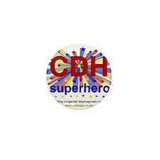 CDH Superhero Stars Logo for Boys Mini Button (10