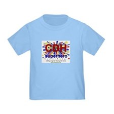 CDH Superhero Stars Logo for Boys T