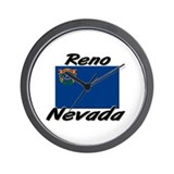 Reno Nevada Wall Clock