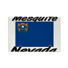 Mesquite Nevada Rectangle Magnet