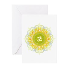 Om Mandala Greeting Cards (Pk of 20)