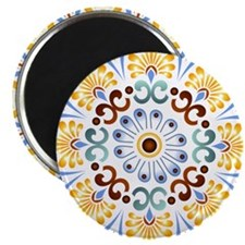 "Golden Mandala 2.25"" Magnet (100 pack)"